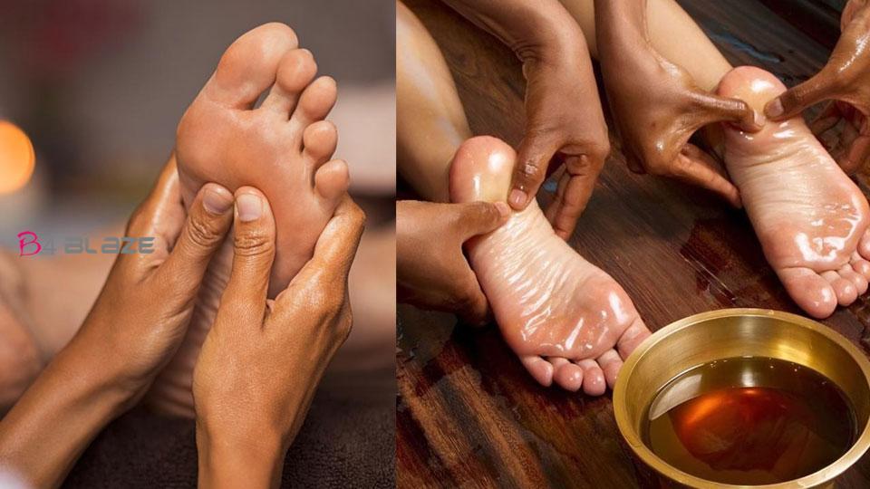 Benefit of foot massage