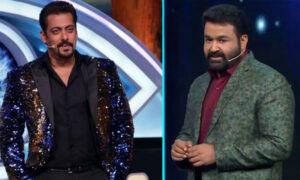 Mohanlal and Salman Khan in Bigg Boss