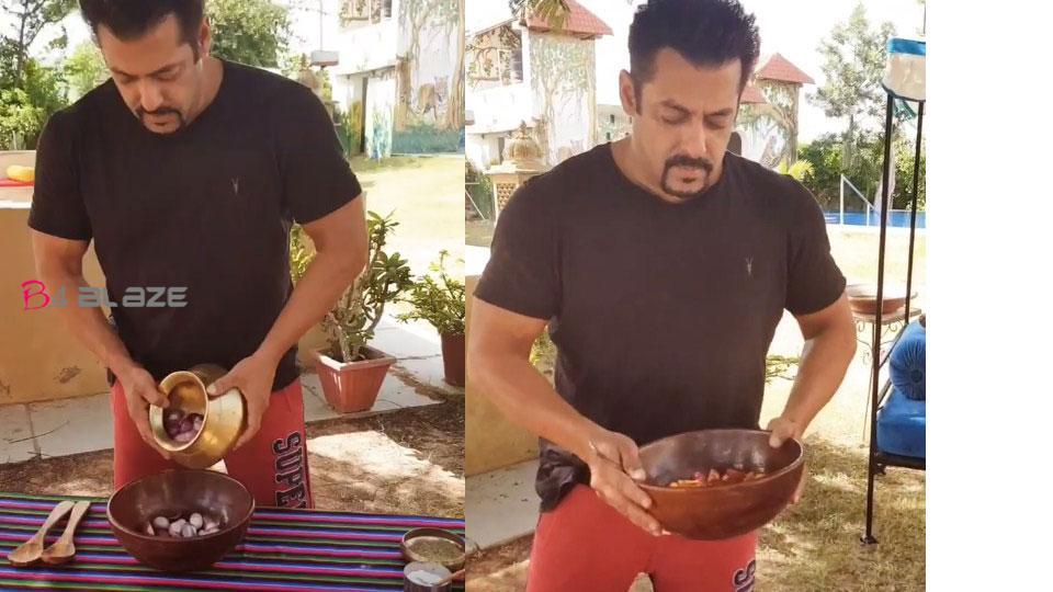salman khan cooking