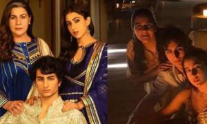sara ali khan family