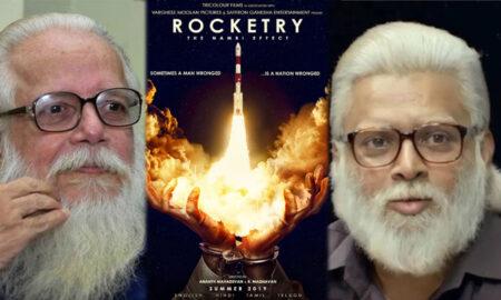 Rocketry madhavan with life of Nambi narayanan