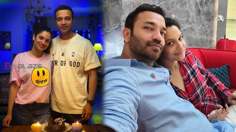 Ankita Lokhande shared romantic photos with Vicky Jain