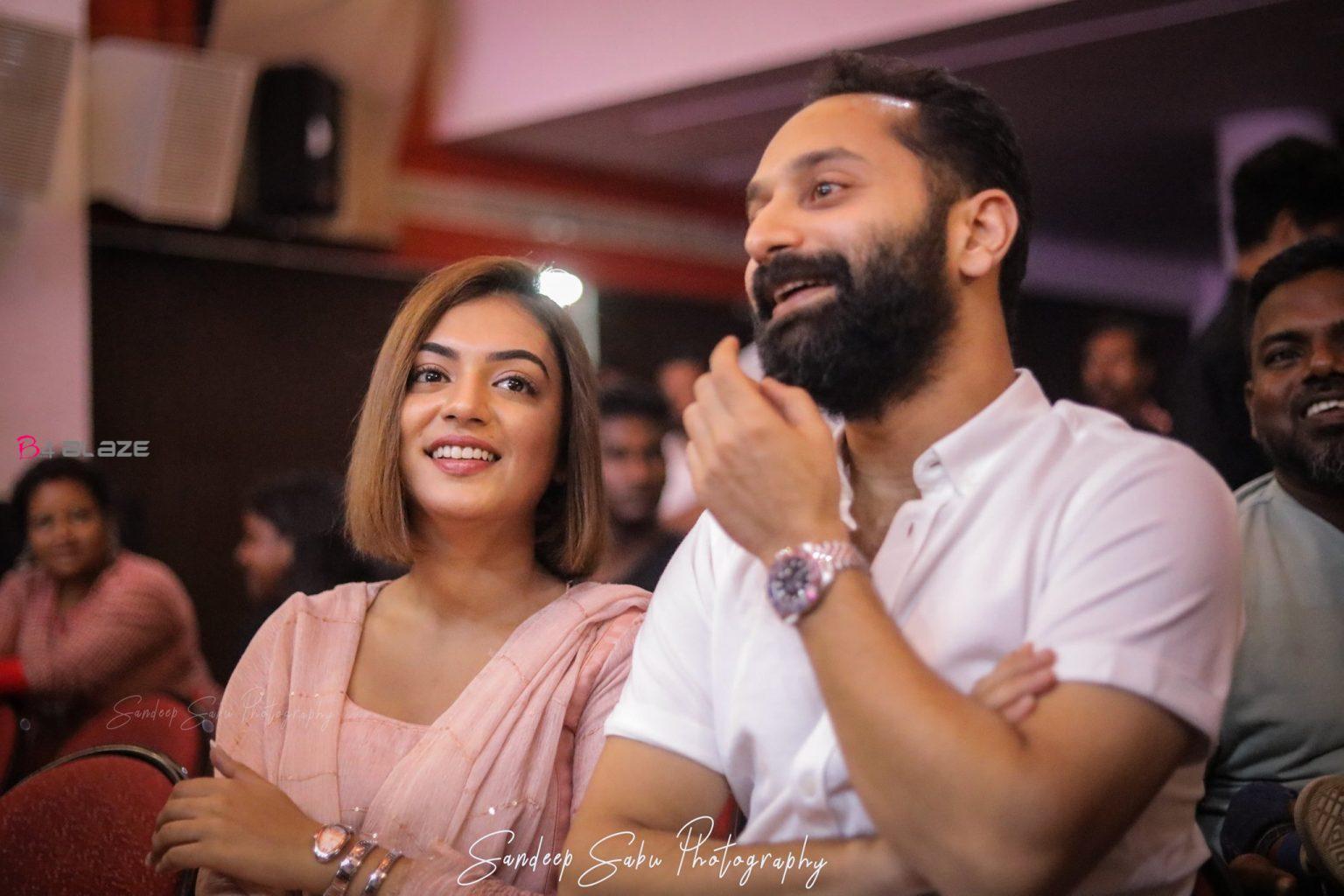 Fahad-Fazil and Nazriya