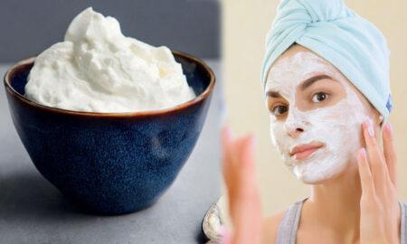 Yogurt face pack to beautify