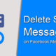How to Delete Messages on Facebook