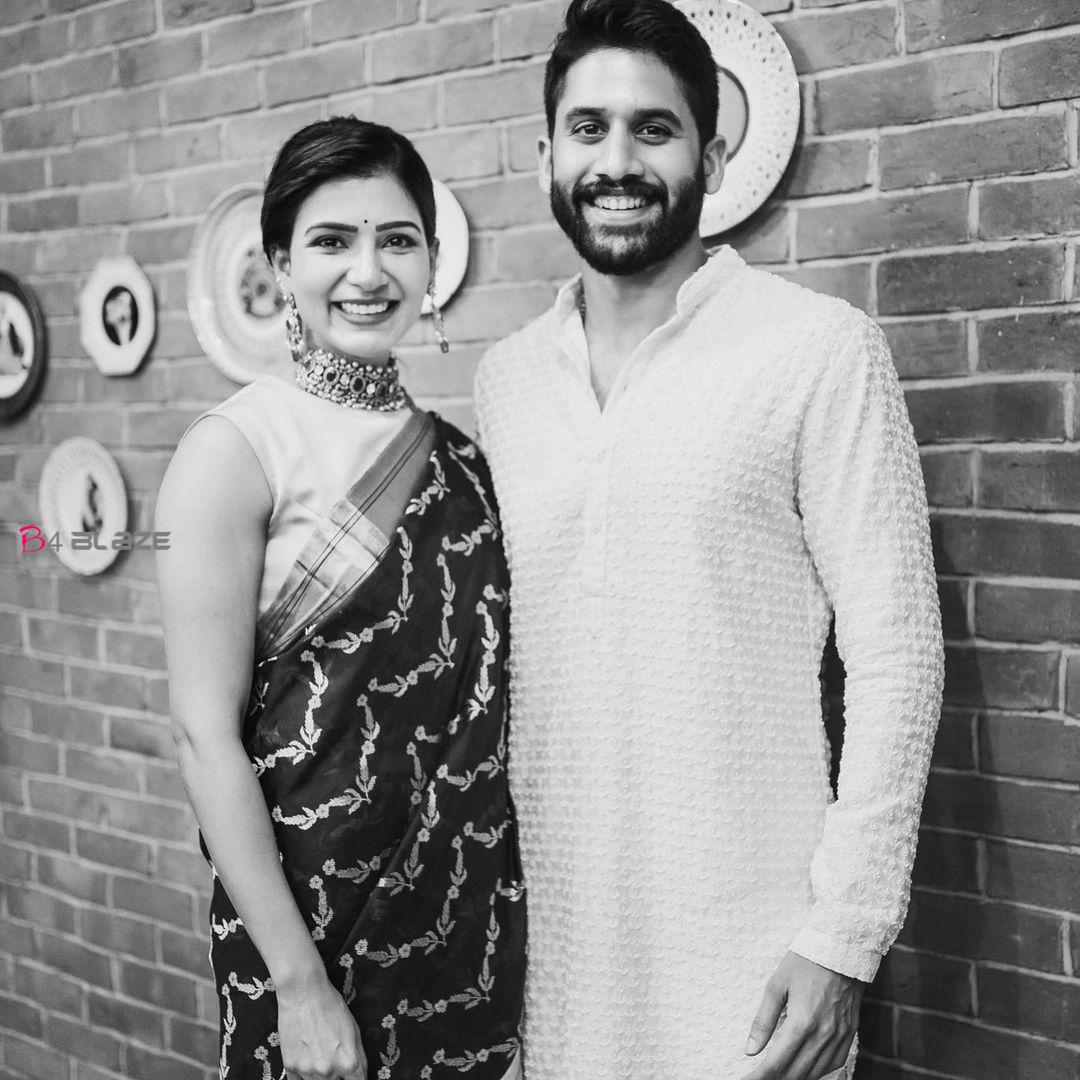 Samantha with Naga Chaithanya