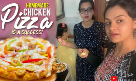 Shilpa-Bala's-new-homemade-pizza-making-video