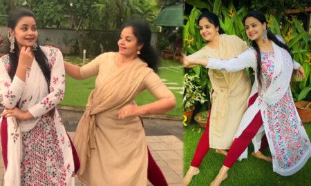 Shilpa bala with Mother