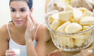 Skin Care tips using garlic