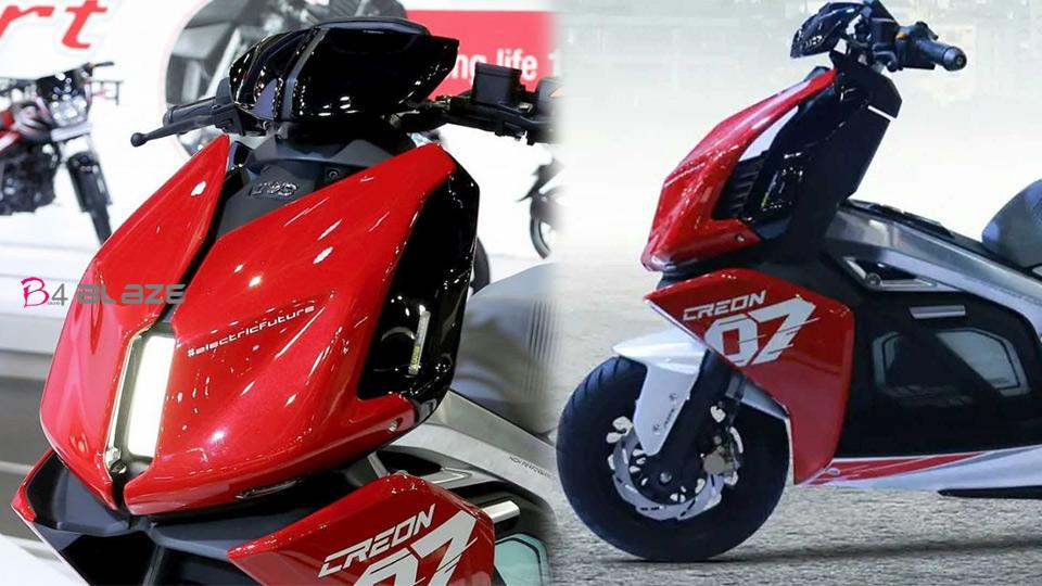 TVS Creon, electric bike
