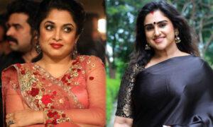 Vanitha clashes with Ramya Krishnan over