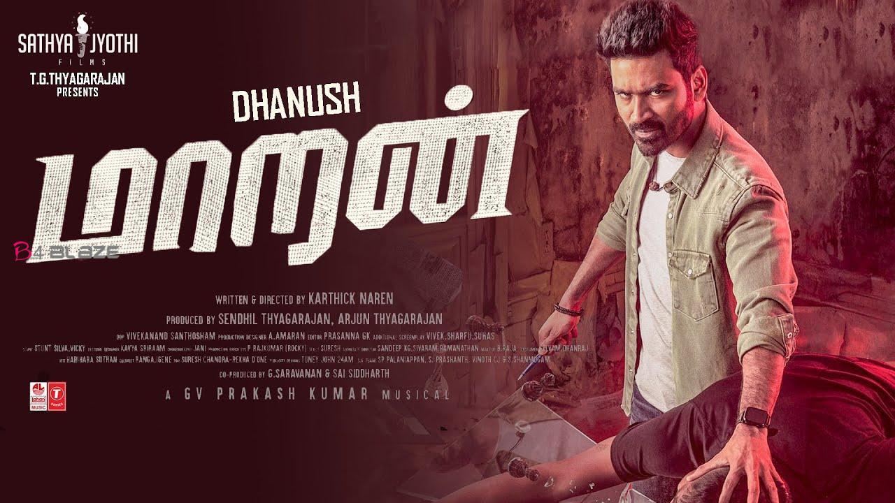 Dhanush and Malvika film Maaran