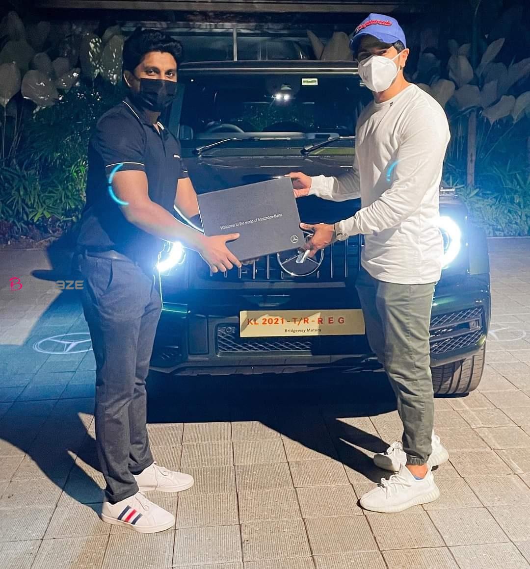 Dulquer-Salman-car