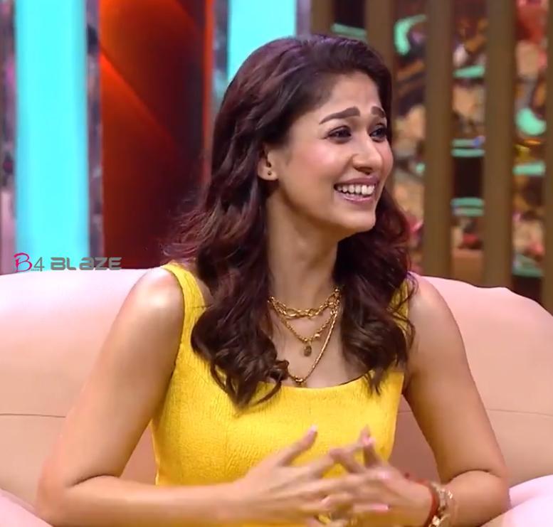 Nayanthara revealed her engagement