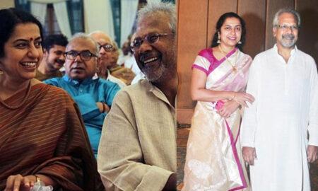 Suhasini with Maniratnam
