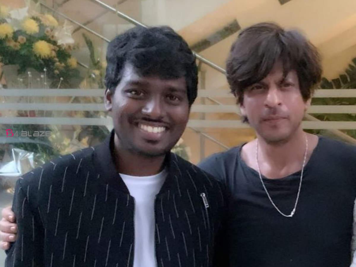 Actor Shahrukh Khan and Director Atlee