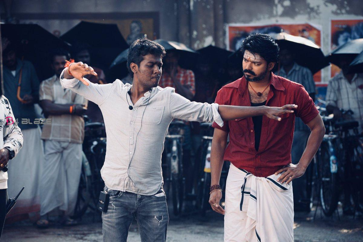 Director Atlee and Actor Vijay