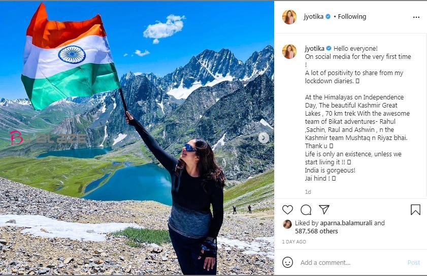 Jyothika in instagram