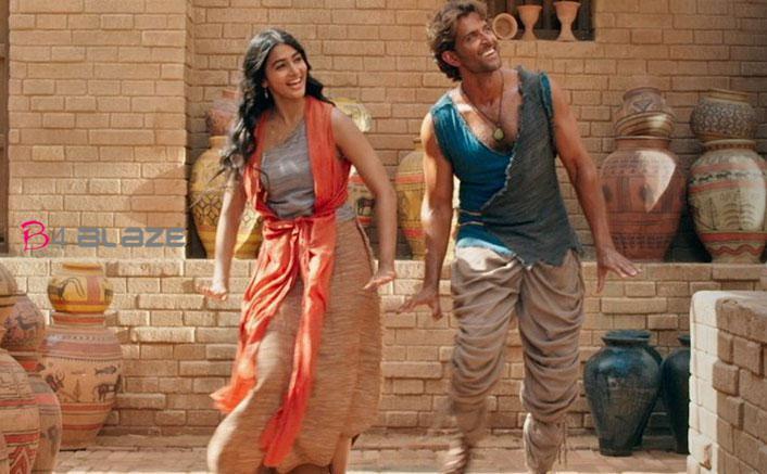 Pooja Hegde and Hrithik Roshan