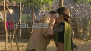 Samantha and Ramcharan kissing scene